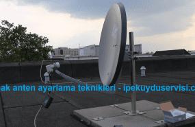 Çanak anten ayarlama teknikleri