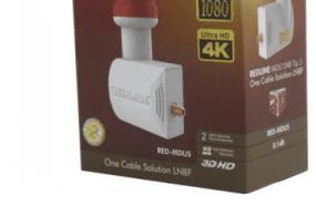 Redline MDU5 Tip 5 digitürk Lnb