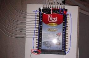 Uydu alıcısı merkezi sistem ayarları