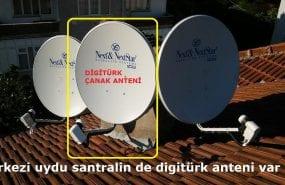 Merkezi uydu santralin de digitürk anteni var mı?