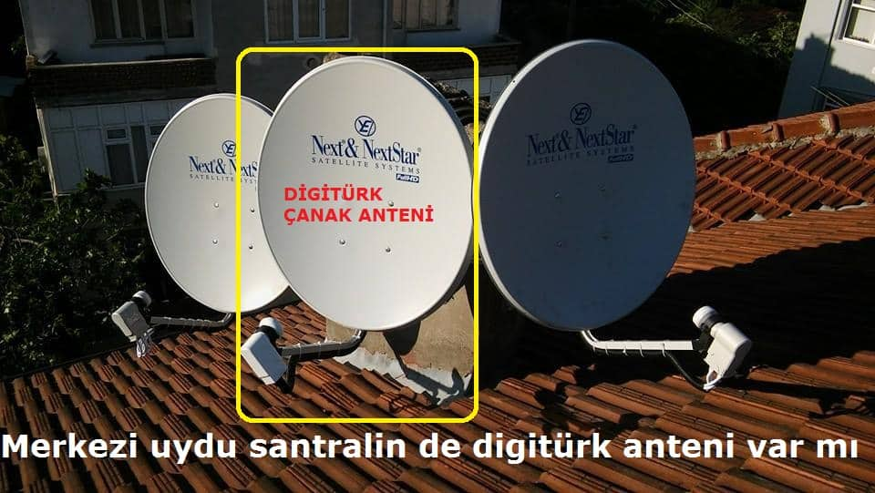 Photo of Merkezi uydu santralin de digitürk anteni var mı?