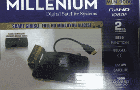 Millenium Skartlı Ve Hd çıkışlı uydu alıcısı