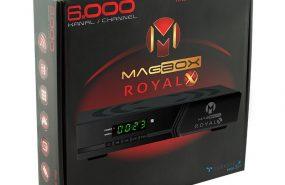Magbox Royal kasalı uydu alıcısı