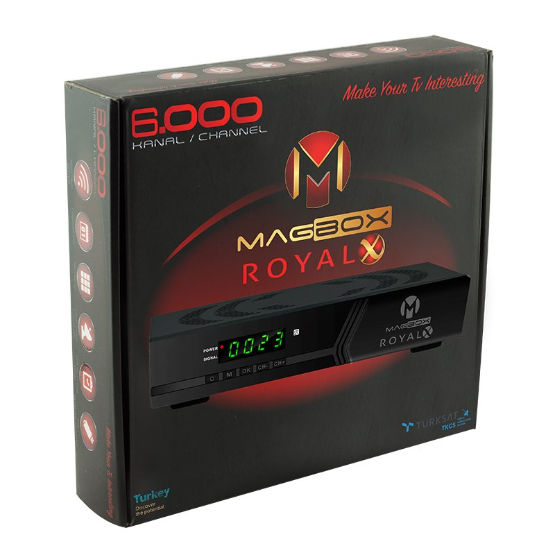 Photo of Magbox Royal kasalı uydu alıcısı