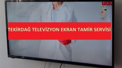Tekirdağ televizyon kırık ekran değiştirme servisi